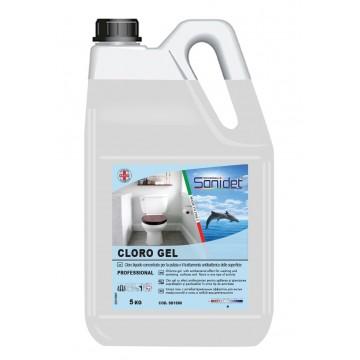 DESA CLORO GEL - Detergent gel pe bază de clor activ parfumat