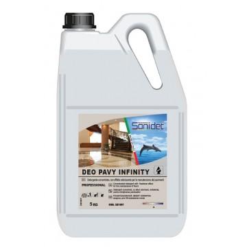 DEO PAVY INFINITY - Detergent odorizant concentrat cu efect antibacterian